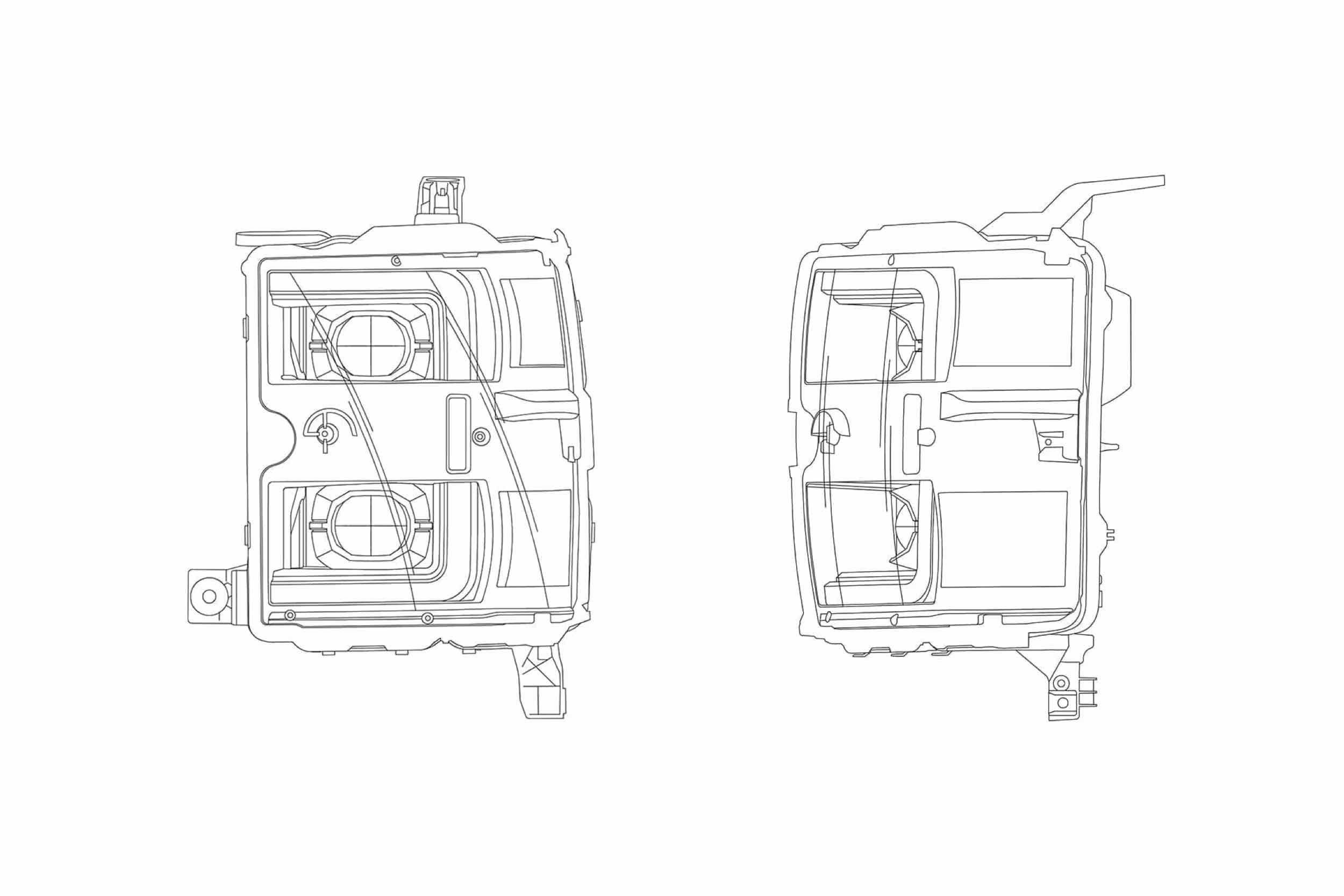 Chevy Silverado HD (15-19): AlphaRex Pro Headlights I TRS
