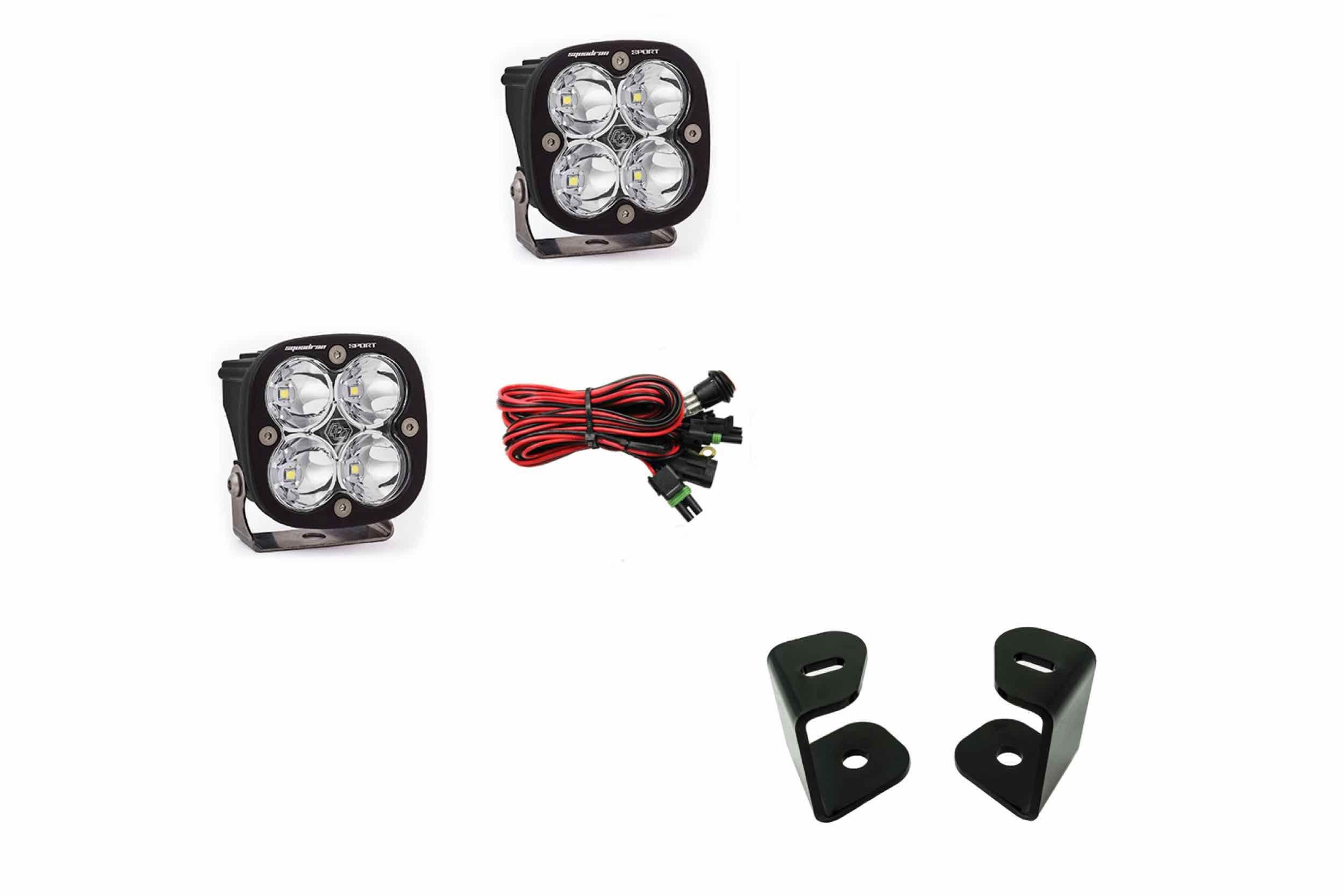 A-Pillar LED Spot Light System: Dodge Ram 1500 (09-18) I TRS
