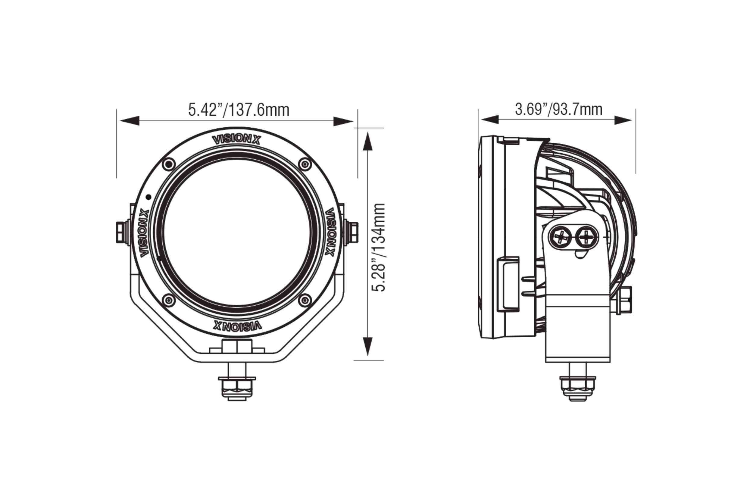 Vision X Grille LED System: Ford Super Duty (17-19) I TRS